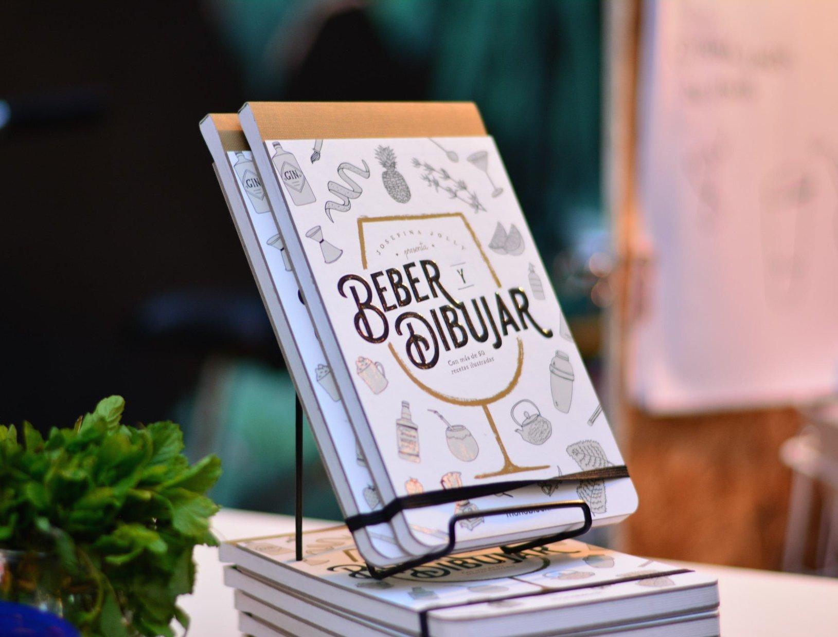 Beber y dibujar libro
