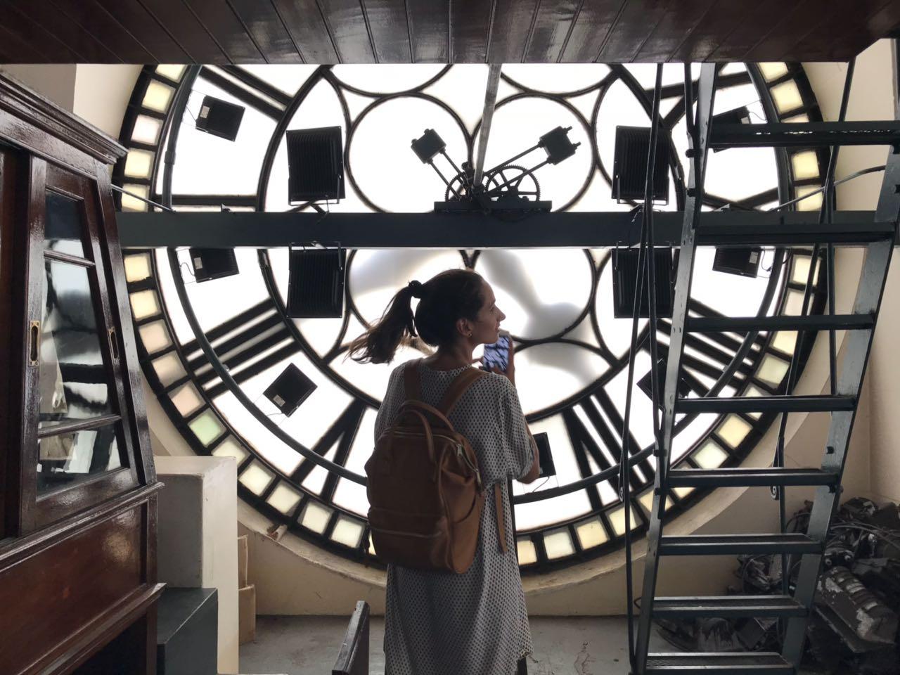 reloj torre de los ingleses monumental