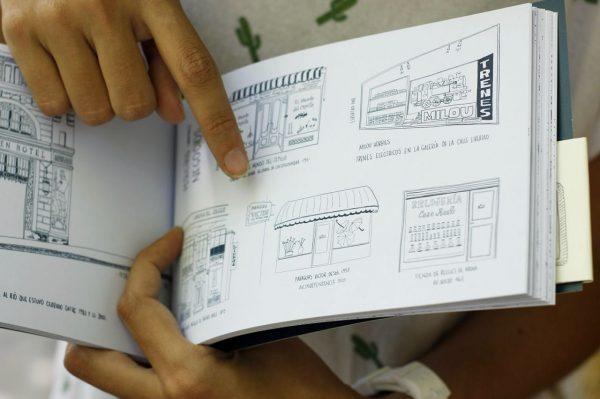 libro 313 dibujos de buenos aires josefina jolly