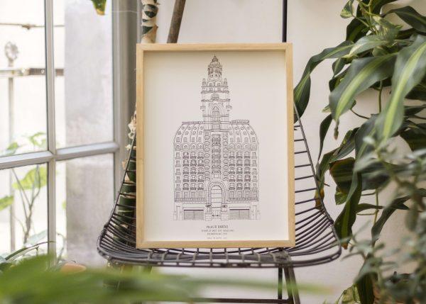barolo cuadro palacio edificio buenos aires arquitectura dibujo josefina jolly